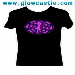 China Ladies' Light-Up Dancer T-Shirt on sale