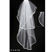 China 2 m long White/ivory wedding veils on sale