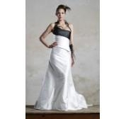 China 2011 New Fashion colored halter wedding dress on sale