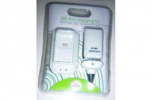 China XBOX360 battery+charger+cable on sale