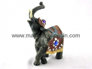 China polyresin elephant resin elephant crafts on sale