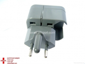 China AMPURL-DIAMOND-world travel adapter 4 with South Africa plug(AMP124) on sale