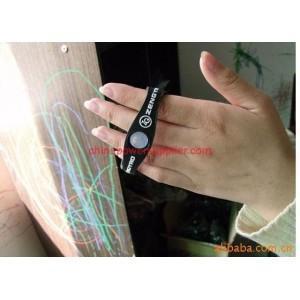 China NEW POWER BLANCE-CUSTOM power balance customized silicone bracelet on sale