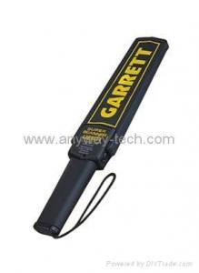 China handheld metal detector Garrett on sale