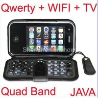 T2000 Qwerty Quad Band Mobile Phone with WIFI and Analog TV