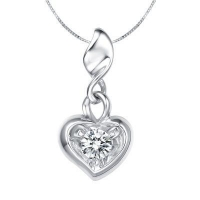 China 900 Platinum Diamond Pendant on sale