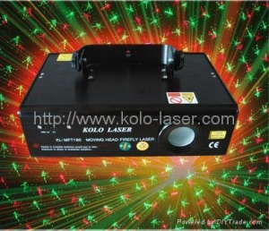 China Tri-color RGY moving head firefly twinkling laser light, stage light on sale