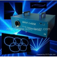 100mW blue animation laser effects, laser lighting for dj, clubs, disco