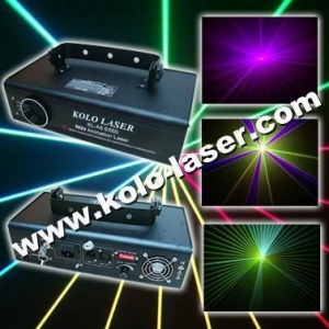 China 500mW RGV full color animation laser light, laser show system for dj pro on sale