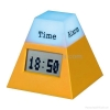 China 7 Colour change Rotate Clock for sale