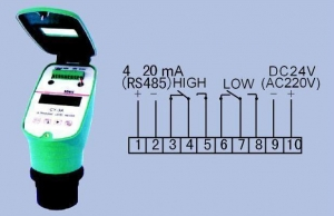 China Ultrasonic Level Guage Meter (4 line) on sale