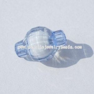 China Drum acrylic Bead in Bead Pattern--ABB020 on sale