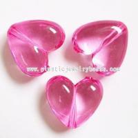 China wedding decoration heart beads--AC027 on sale