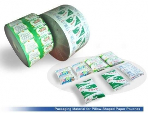 China Aseptic Packaging Material for Pillow-Shaped Paper Pouches on sale