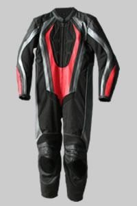 China M-131-208Leather Plus cordura Motorcycle Suit on sale