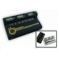 USB Card Reader with 3-Port USB HUB (BRC-79)