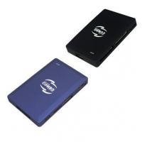 Slim USB Card Reader with 3-Port USB HUB (BRC-77)