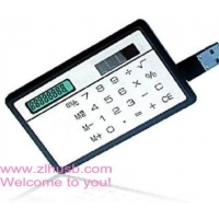 calculator card usb flash drive