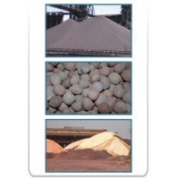 Iron Ore - Fines, Lumps and Pellets.