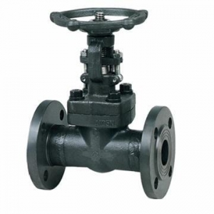 China Valves Flange Type Forged Steel Gate Valve on sale