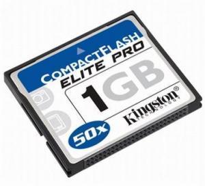 China Memory Card Kingston C Kingston Compact flash Elite Pro 1GB on sale