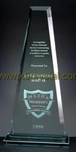 China Glass trophies on sale