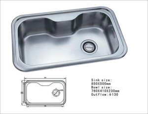 China Stainless Steel Sink WT-3001 on sale