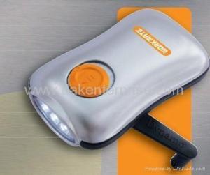 China Dynamo Wind up Flashlight DK-D301 on sale