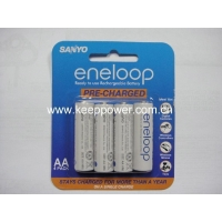 Sanyo Eneloop 2000mAh AA size with 1500 times rechargeable battery