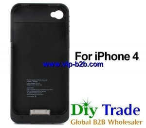 China China Factory iPhone 4 External Battery Casing Black on sale
