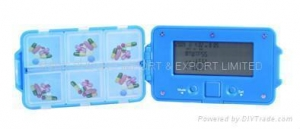 China /Electronic gift /healthgift/Pill Case with Alarm Reminder SS-108 on sale