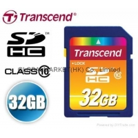 Transcend 32GB SDHC SD HC Secure Data High Capacity Storage 32G HiSpeed