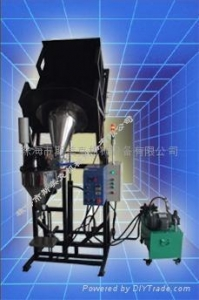 China Hydraulic Barrel Handler Auto Toner Filling Machine on sale