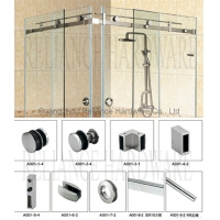 China Sliding Shower Door Hardware on sale