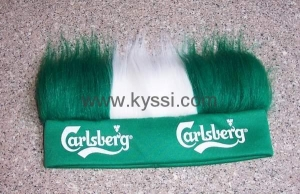 China Wig/Fan Wigs/Funny Wigs/Synthetic Wigs/Curly Wig/Play Wigs with Headband on sale