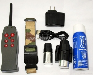 China Remote Spray Dog Training Collar-Bark Stop Collar without any Shock on sale