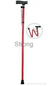 China 5 section folding crutch on sale