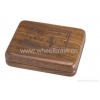 China Solid Walnut Wooden Box WAL-SD for sale