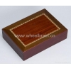 China MDF Box Laminated With Veined Decorative Paper MDF-DP for sale