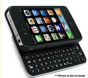 China 2011 Newest Bluetooth Sliding Keyboard for Apple Iphone 4(Iphone 4 Keyboard) on sale