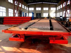 China Precast Concrete Double-T Steel Form & Mold on sale