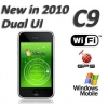 China C9 Dual UI 3.5 inch Touch Screen Windows Mobile 6.5 Built in GPS WIFI 4GB 8GB for sale
