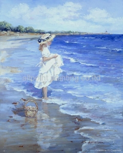 China AP-PE-105 person oil painting on sale