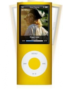 China ID: 97827 Apple iPod nano 5th Generation Yellow on sale