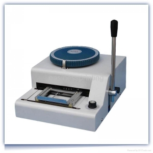 China Russian PVC card embosser on sale