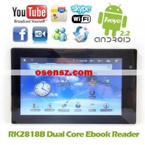 China 7 Inch Android 2.2 Froyo APad RockChip RK2818B Dual Core with Camera WIFI 3G 3D on sale