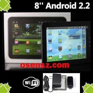 China 8605 8 Google Android 2.2 WiFi MID Tablet PC Netbook on sale