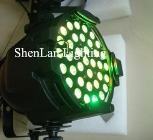 China Par 64 led light 3watt x 36pcs Tri Color RGB on sale