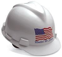 China MSA United We Stand Hard Hat on sale