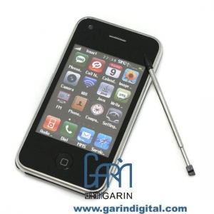 China iPhone 3GS 32GB W818 mobile phone with compass WIFI Dual camera cheap cell phone on sale